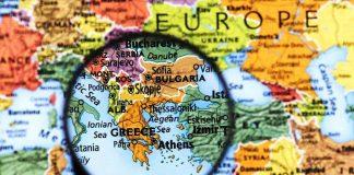 Ελλάδα Γεωπολιτική Αξία Χάρτης φακός